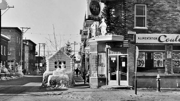 Saint-Sauveur dans les années 1960 (2) : Monuments de glace de la rue Sainte-Thérèse