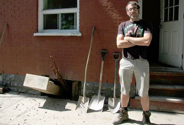 David Paré, blogueur pour Monsaintsauveur.com