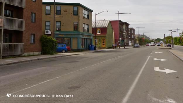 Boulevard Charest, quartier Saint-Sauveur