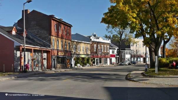 Rue Saint-Vallier, quartier Saint-Sauveur