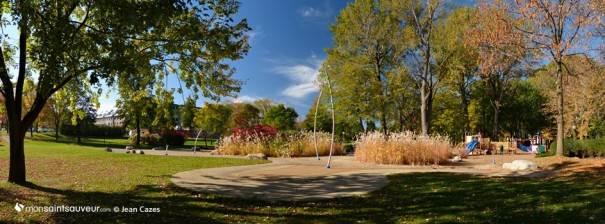 Parc Victoria, quartier Saint-Sauveur.