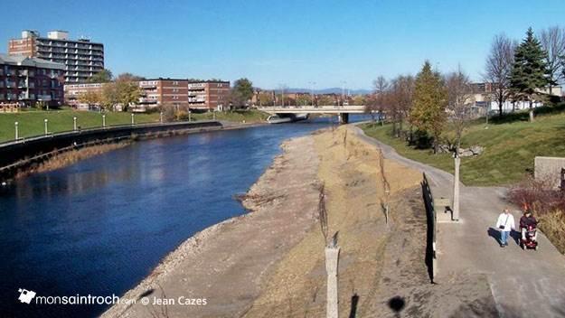 rivière Saint-Charles, quartier Saint-Sauveur