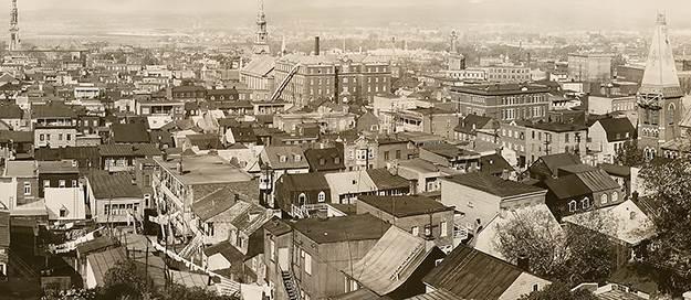 Saint-Sauveur en 1940