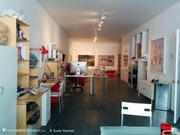 Atelier d'Annie Baillargeon, rue Durocher