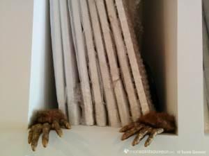 Mains dans l'atelier d'Annie Baillargeon
