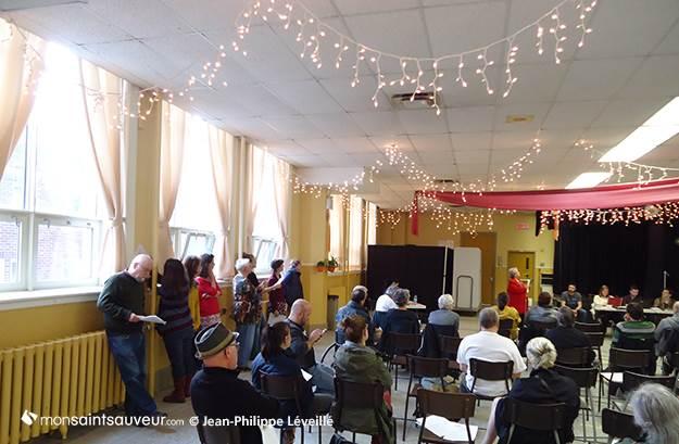 Consultation populaire sur une maison de la culture, Centre Édouard-Lavergne, 3 juin 2015.