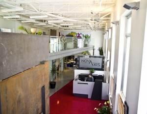 Les bureaux de Novaxis solutions sur le boulevard Langelier. Crédit photo: Novaxis solutions