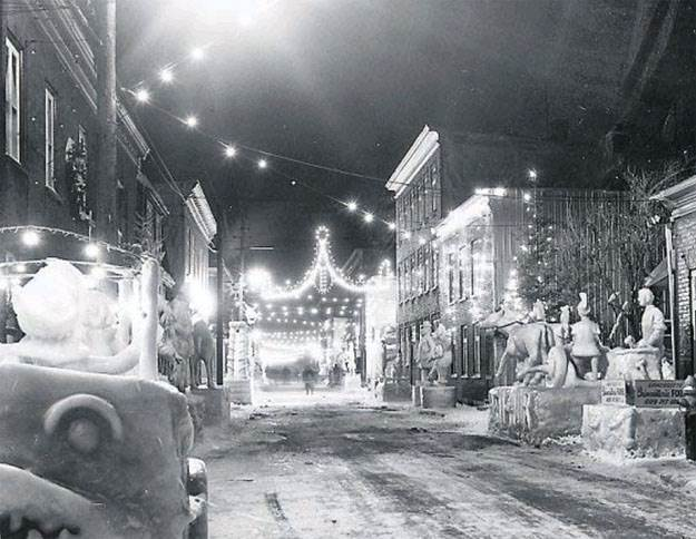 Carnaval de Québec, rue Sainte-Thérèse
