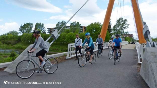 Passerelle cyclopédestre des Trois-Soeurs