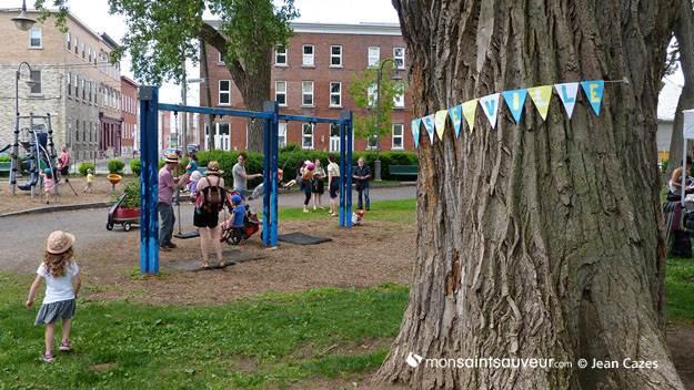Jeux pour enfants - parc Durocher