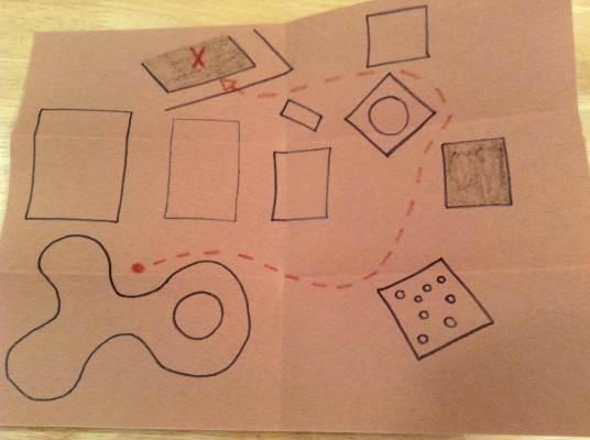 Carte du village magique