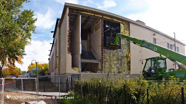 Centre Durocher - démolition