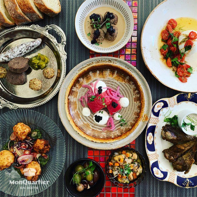Boîte Tapas du Fin Gourmet (2 pers.)