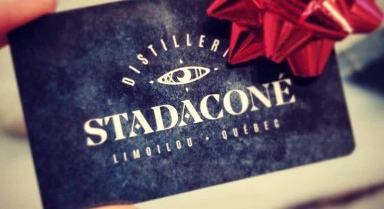 Cartes-cadeaux Distillerie Stadaconé   Distillerie Stadaconé