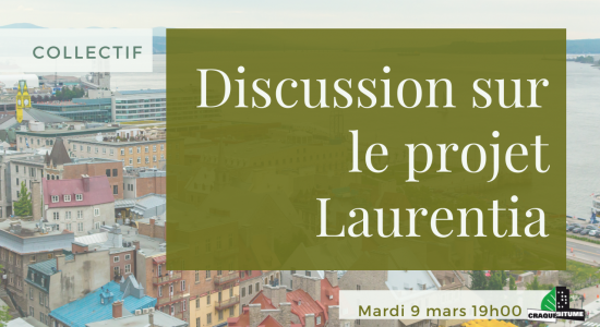 Collectif: Discussion sur le projet Laurentia