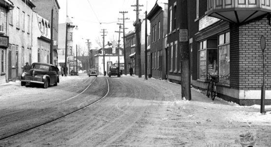 Saint-Sauveur dans les années 1940 (15) : rue Saint-Vallier - Jean Cazes