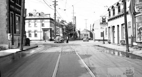 Saint-Sauveur dans les années 1940 (18) : intersection Marie-de-l'Incarnation – Saint-Vallier - Jean Cazes