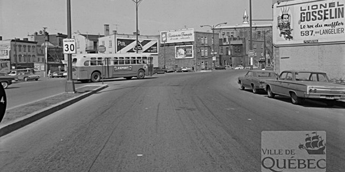 Saint-Sauveur dans les années 1960 (14) : boulevard Charest Ouest | 28 mai 2017 | Article par Jean Cazes