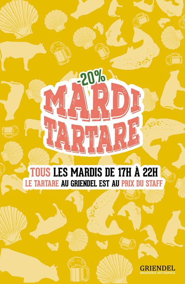 Mardi tartare | Griendel – Brasserie Artisanale