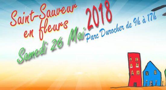 Saint-Sauveur en fleurs