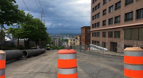 Côte De Salaberry – boulevard Langelier : fermeture pour travaux majeurs - Monsaintsauveur