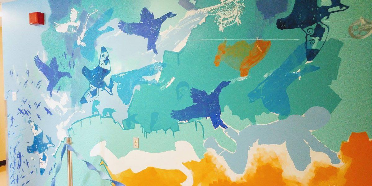 L'art prend son envol : la murale <em>Migrations</em> se dévoile | 27 juin 2017 | Article par Myriam Nickner-Hudon