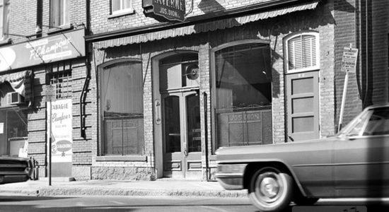 Saint-Sauveur dans les années 1960 (18) : Taverne Jos Dion - Jean Cazes