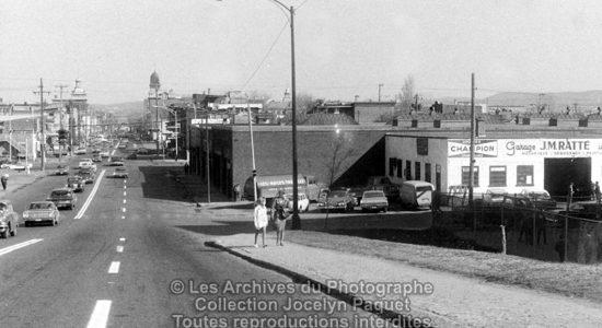 Saint-Sauveur dans les années 1960 (16) : intersection Marie-de-l'Incarnation – Kirouac - Jean Cazes