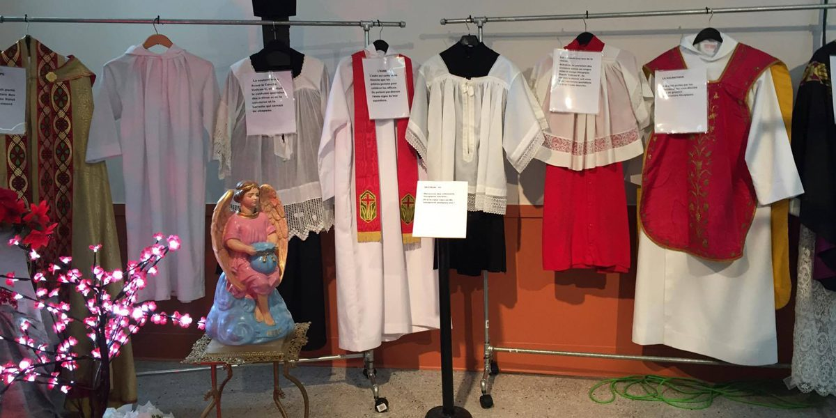 150e de la paroisse Saint-Sauveur: visite de l'exposition patrimoniale | 19 septembre 2017 | Article par Myriam Nickner-Hudon