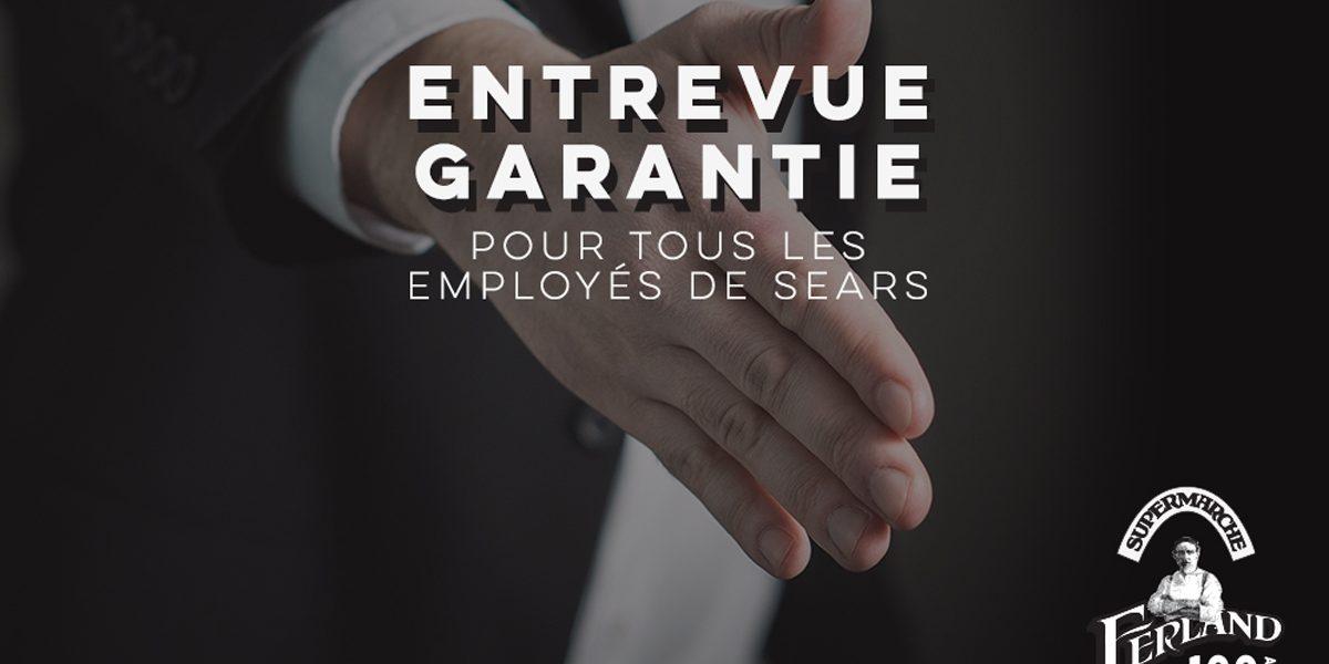 Métro Ferland garantit une entrevue au personnel des Sears de Québec | 30 octobre 2017 | Article par Monsaintsauveur
