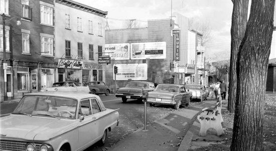 Saint-Sauveur dans les années 1960 (19) : le cinéma Laurier, coin Saint-Vallier Ouest – de Carillon - Jean Cazes