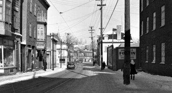 Saint-Sauveur dans les années 1940 (22) : rue Saint-Vallier - Jean Cazes