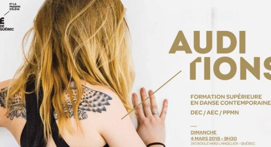 Auditions | Formation supérieure