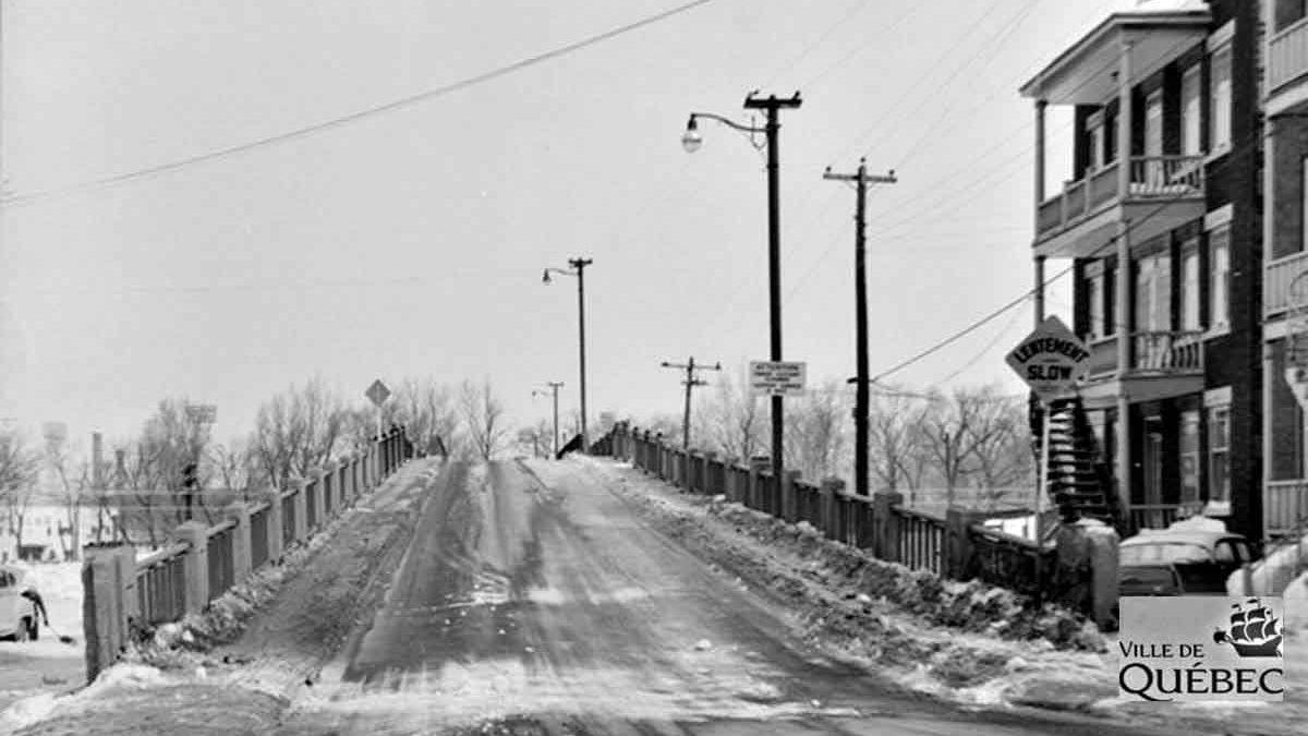 Saint-Sauveur dans les années 1960 (23) : le pont Parent, témoin de l'évolution de la Saint-Charles | 15 avril 2018 | Article par Jean Cazes