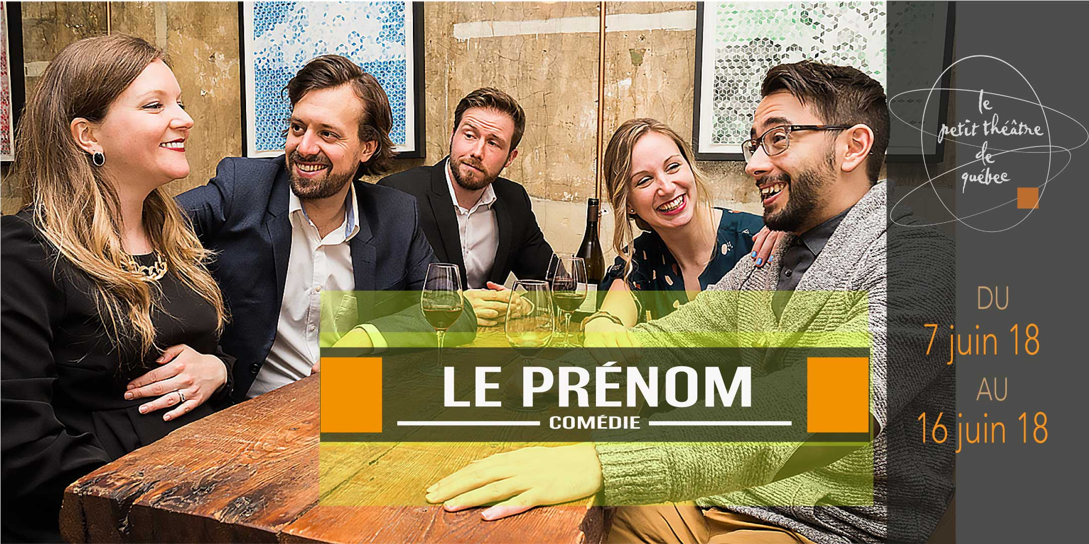 Souper 3 services à 30$ «Le Prénom»au Renard et la chouette | Renard et la chouette (Le)