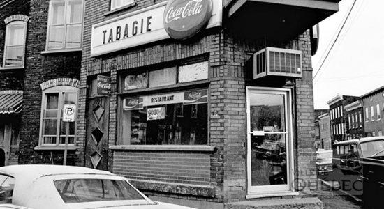 Saint-Sauveur dans les années 1970 (22) : restaurant-tabagie Saint-Ambroise - Jean Cazes