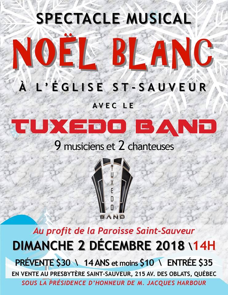 noel blanc quebec 2018 Concert de Noël : Noël Blanc en musique   Monsaintsauveur noel blanc quebec 2018