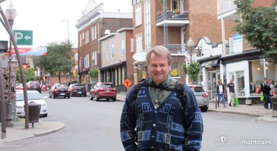 Guy Boivin, candidat de l'Équipe Autonomiste dans Taschereau - Vincent Auclair