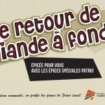 Le retour de la viande à fondue - Patro Laval
