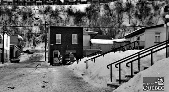 Saint-Sauveur dans les années 1960 (26) : intersection Saint-Sauveur et Franklin - Jean Cazes