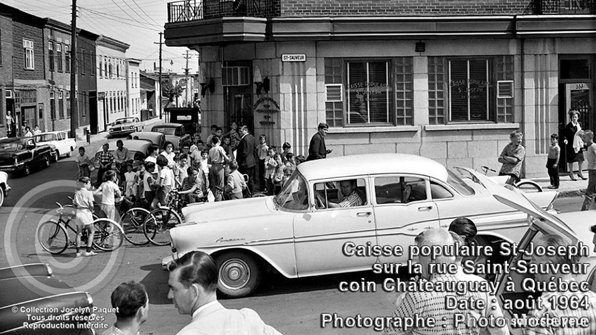 Saint-Sauveur dans les années 1960 (28) : la Caisse populaire Saint-Joseph | 30 juin 2019 | Article par Jean Cazes