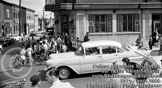 Saint-Sauveur dans les années 1960 (28) : la Caisse populaire Saint-Joseph - Jean Cazes