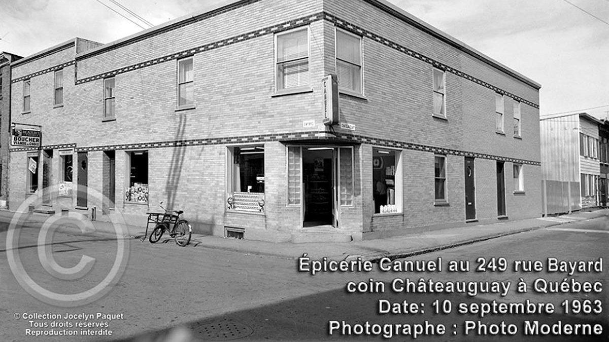 Saint-Sauveur dans les années 1960 (29) : épicerie Canuel | 18 août 2019 | Article par Jean Cazes