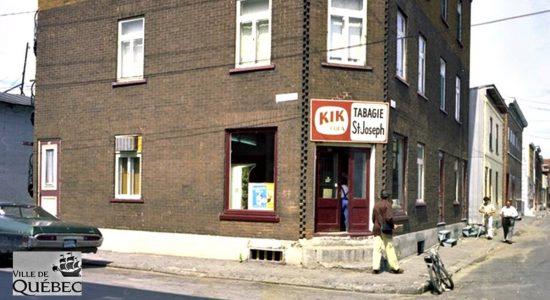 Saint-Sauveur dans les années 1970 (13) : tabagie St-Joseph - Jean Cazes