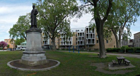 Réaménagement au parc Durocher et lueur d'espoir pour les poteaux - Suzie Genest