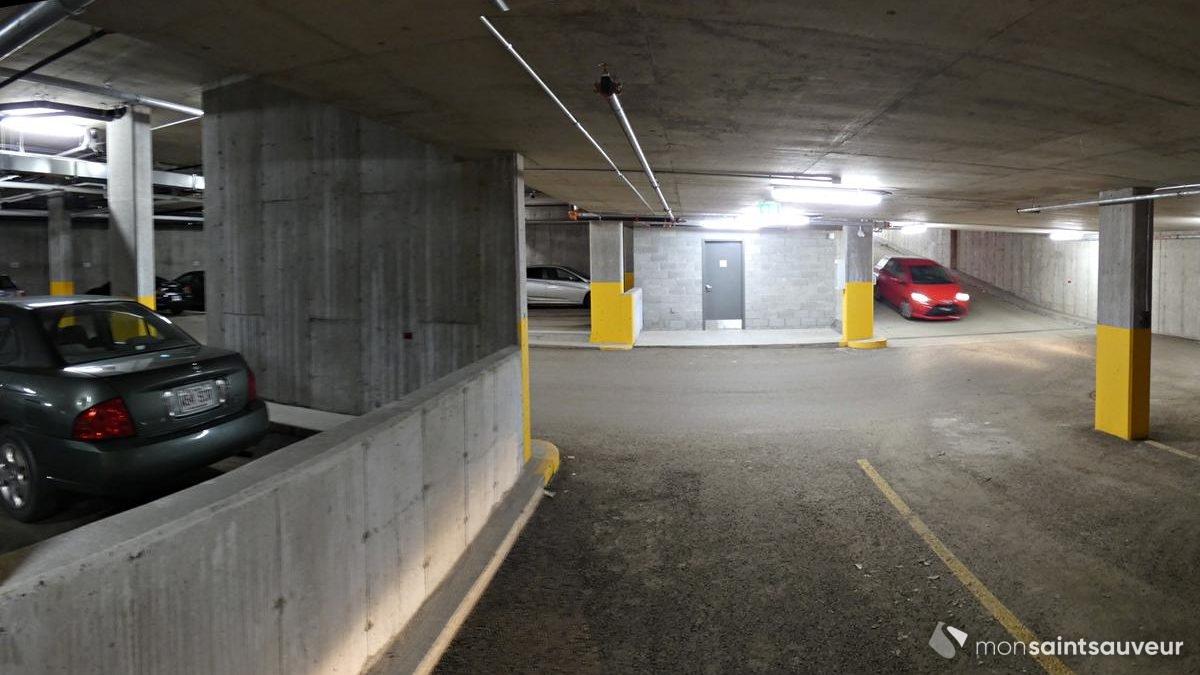 Le stationnement sous-terrain