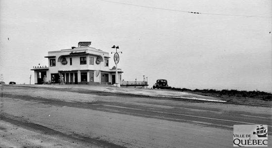 Côte de la Pente-Douce, en 1952