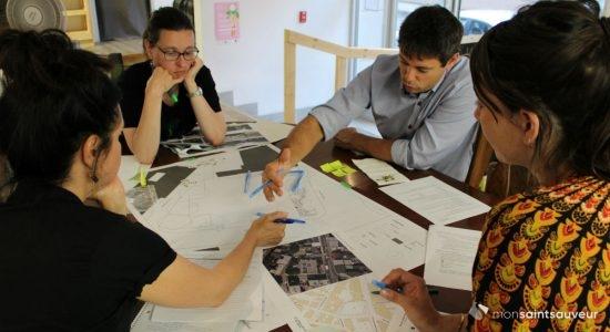 La future Oasis Saint-Vallier permanente imaginée par des citoyens - Véronique Demers
