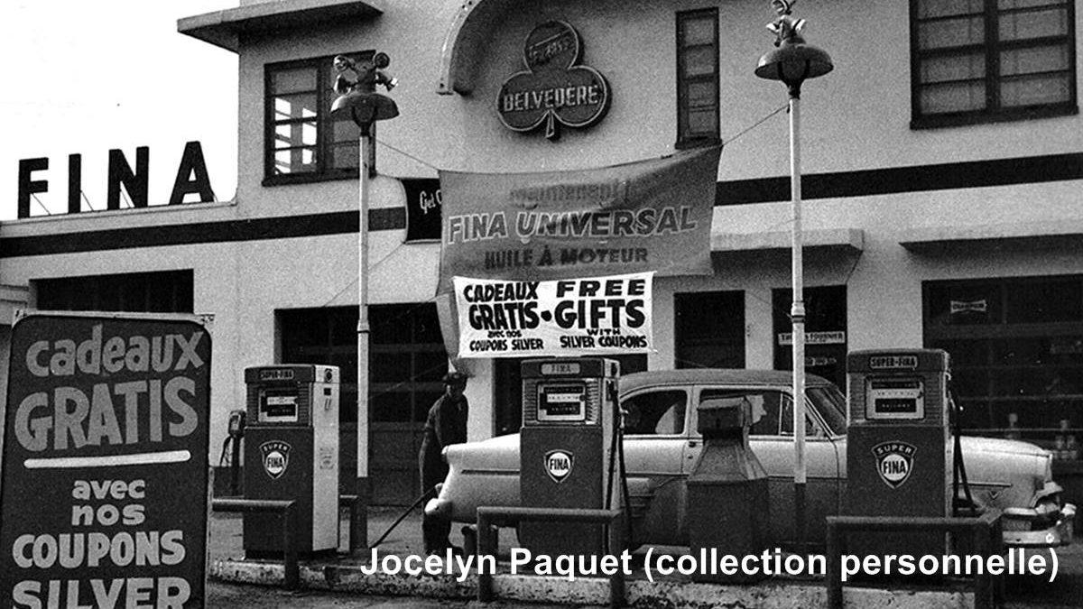 Côte de la Pente-Douce, en 1955