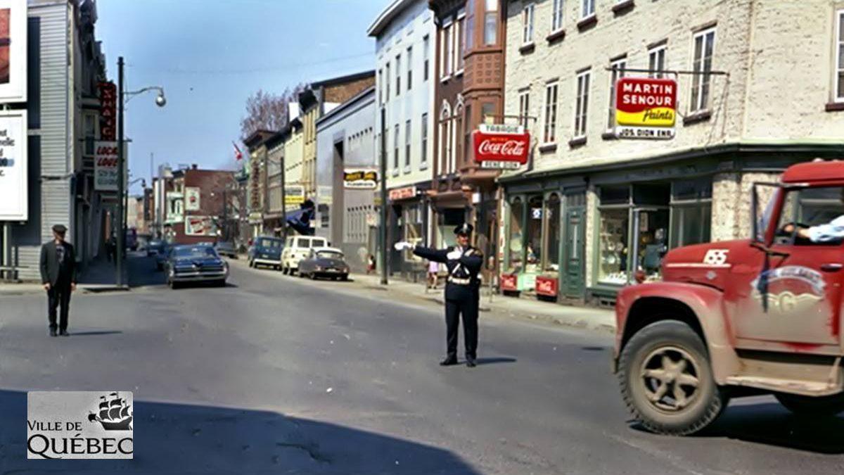 Saint-Sauveur dans les années 1960 (30) : agent de circulation sur Saint-Vallier Ouest | 24 novembre 2019 | Article par Jean Cazes